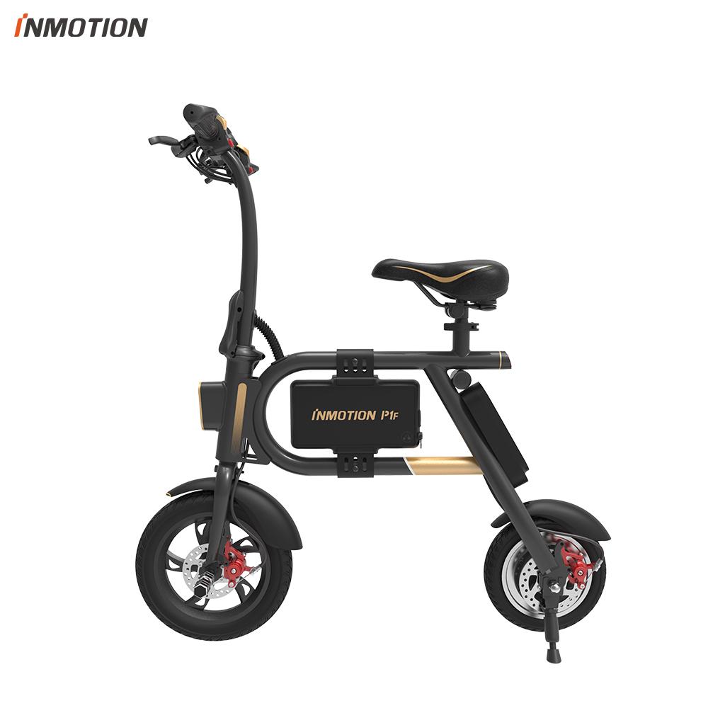 INMOTION P1F EBIKE bicicleta plegable Mini bicicleta Scooter Eléctrico de batería de litio-ion 350 W CE RoHS FCC