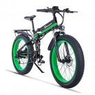26 pulgadas neumático gordo Bicicleta eléctrica 1000W 48V Nieve E-bici Shimano
