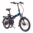 NCM London (+) Bicicleta eléctrica Plegable, 250W, Batería 36V