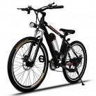 AMDirect Bicicleta de Montaña Eléctrica de 26 Pulgadas E-Bike