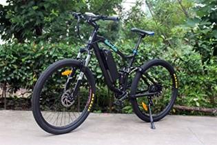 Bicicleta eléctrica de montaña NATURCLETA DOUBLE EÑE