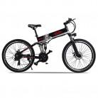 Bicicleta Electrica 48V 500W Bicicleta de Montaña 21 Velocidades 26 Pulgadas con Batería de Litio