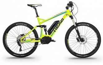 Bicicleta Electrica de montaña doble suspensión 27,5 pulgadas 500W