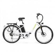 Bicicleta ELECTRICA Mod. Sunray 200 BATERIA Ion Litio 36V 10AH blanca