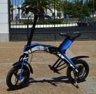 """Bicicleta scooter eléctrica 300W 14"""" plegable MouneK M-01 batería Litio 48V"""
