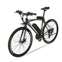 BNMZX Bicicleta eléctrica, Bicicleta de Carretera Masculina/Femenina grey
