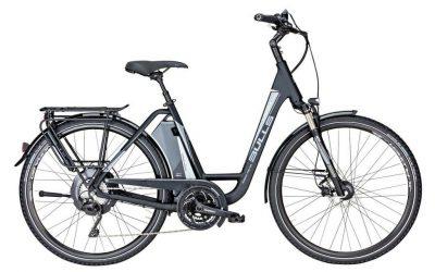 Bulls Bicicleta Eléctrica Verde Mover Lavida Plus 17Ah Mujer Negro 2018