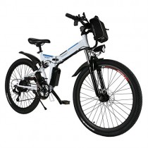 cooshional Bicicleta Eléctrica Plegable de Montaña con la Batería de Iones de Litio 36V
