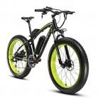 Cyrusher® Extrbici XF660 Verde Negro 48V 500 vatios