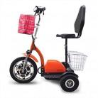 Dpliu-HW Bicicleta Eléctrica Scooter eléctrico de Tres Ruedas