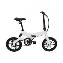 Ecogyro Gyro GBike Bicicleta Eléctrica Plegable, Juventud Unisex, Blanco, Talla Única
