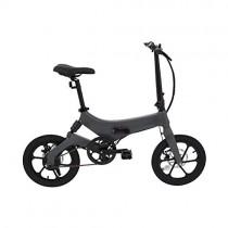Ecogyro GyroRoad eBike Bicicleta Eléctrica Plegable, Adultos Unisex, Gris, Talla Única