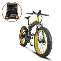 Extrbici Cruiser Bicicleta Eléctrica Plegable XF690 500w 48v