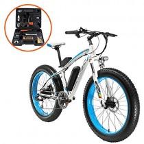 Extrbici XF660 500 W 48 V 10.4 Ah Bicicleta Eléctrica 26 'X4.0 Grasa Bicicleta Cruiser azul