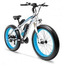 Extrbici XF660 Bicicleta eléctrica 48V 500W/1000W Bicicleta de montaña azul claro