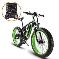 Extrbici XF800 1000W 48V 13AH Bicicleta eléctrica 26 ' verde