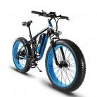Extrbici XF800 1000W 48V 13AH Bicicleta eléctrica 26 'Marco de aleación de Aluminio