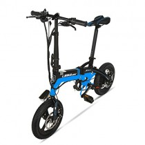 GTYW, Eléctrico, Plegable, Bicicleta, Montaña, Bicicleta, Ciclomotor Adulto, Bicicleta Eléctrica