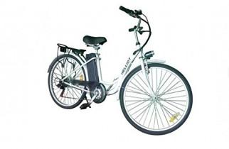 Helliot Bikes EB_01 Bicicleta Eléctrica, Unisex Adulto, Blanco, Estándar