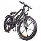 HJHJ Bicicleta de montaña eléctrica, Bicicleta híbrida de 26 Pulgadas/batería de Litio