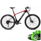 HJHJ Bicicleta de montaña eléctrica Moto de Nieve híbrida 27.5 Pulgadas