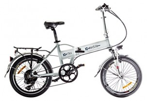 IC Electric Mini – Bicicleta Plegable Blanca