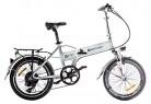 IC Electric Mini – Bicicleta Plegable Blanca