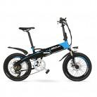LANKELEISI G660 48V 10Ah Hidden Battery 20″Bicicleta de montaña eléctrica Plegable