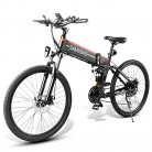 Lixada Bicicleta Eléctrica Plegable Motor 48V 500W Rueda 26 Pulgadas