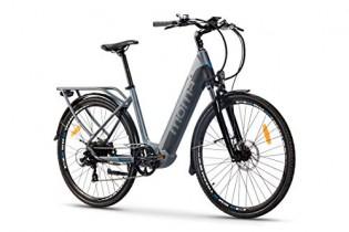 Moma Bikes Bicicleta Eléctrica Urbana EBIKE-28 Pro, Shimano 7vel