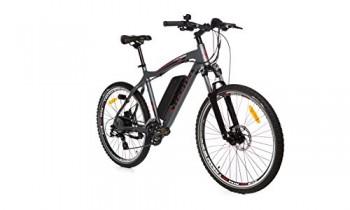 "Moma Bikes Bicicleta Electrica, Montaña EMTB-26 "", Alu. SHIMANO 24V"