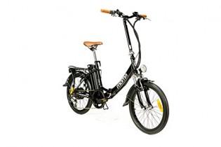 "Moma Bikes Bicicleta Electrica, Plegable, Urbana EBIKE-20 """