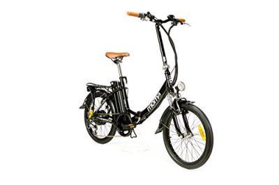 Moma Bikes Bicicleta Electrica, Plegable, Urbana EBIKE-20 «