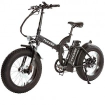 Monster 20″ FS – eBike Plegable – Suspensión Delantera – Motor 500W Antracita