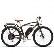 MSEBIKE Comet 700C Bicicleta Eléctrica 48 V 13Ah 500 W