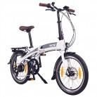 NCM Lyon Bicicleta eléctrica Plegable, 250W, Batería Dentro del Cuadro 36V 8Ah 288Wh, 20″