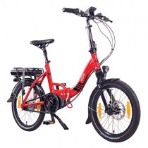 NCM Paris MAX N8R Bicicleta eléctrica Plegable, 250W