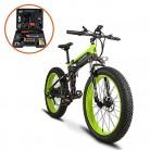 Plegable eléctrico Cruiser Bike extrbici T750 500 W verde