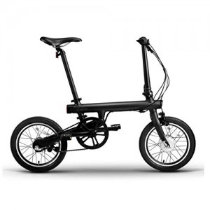 QiCycle XIAOMI, Adultos Unisex, Negro, 100