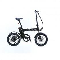 REVOE Lite Bicicleta eléctrica plegable, negro