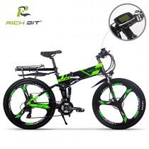 RICH BIT Eléctricas RT860 E-Bike 12.8Ah Batería de litio 36V 250W