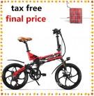 RICH BIT ZDC RT-730 Bicicleta eléctrica Plegable de 20 Pulgadas 48v 8ah