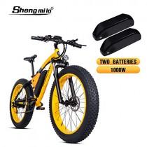 Shengmilo-MX02 26 Pulgadas neumático Gordo Bicicleta eléctrica 1000 W