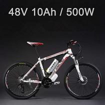 SMLRO La Bicicleta eléctrica de la batería de Litio de 26″48V 500W